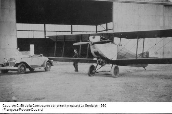 Caudron C. 59 de la Compagnie aérienne française à La Sénia en 1930