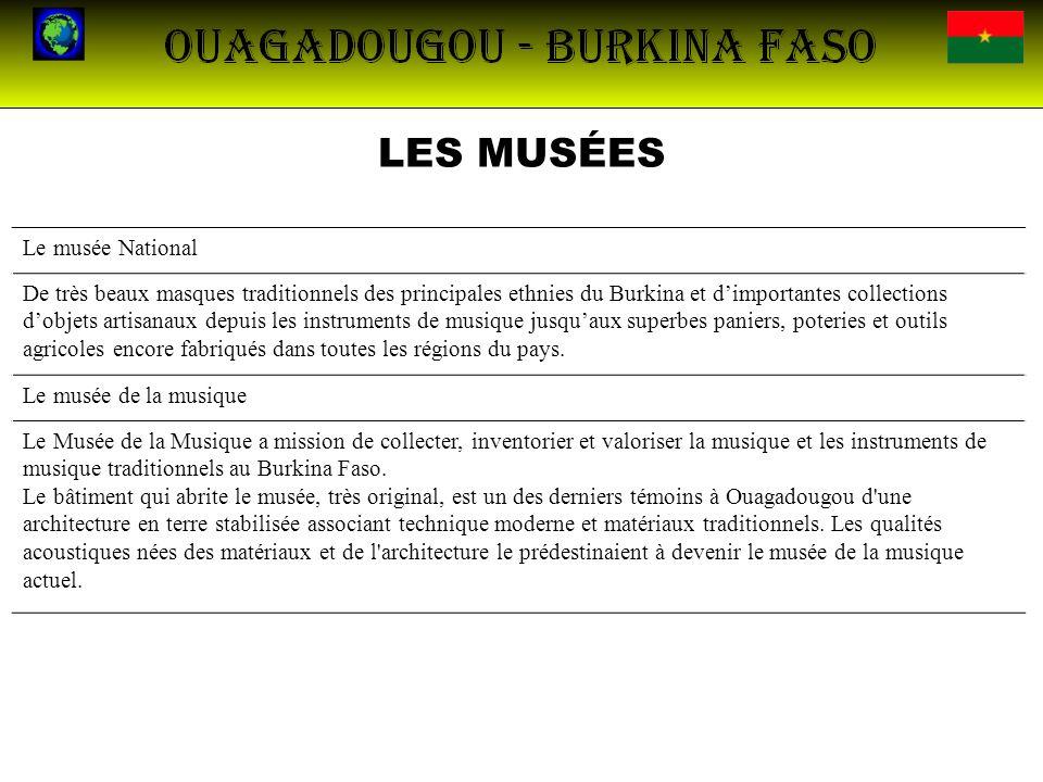 LES MUSÉES Le musée National
