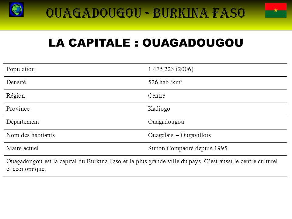 LA CAPITALE : OUAGADOUGOU
