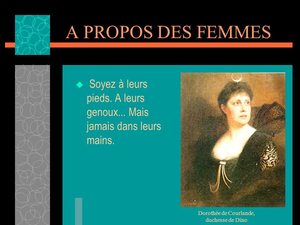 Dorothée de Courlande, duchesse de Dino
