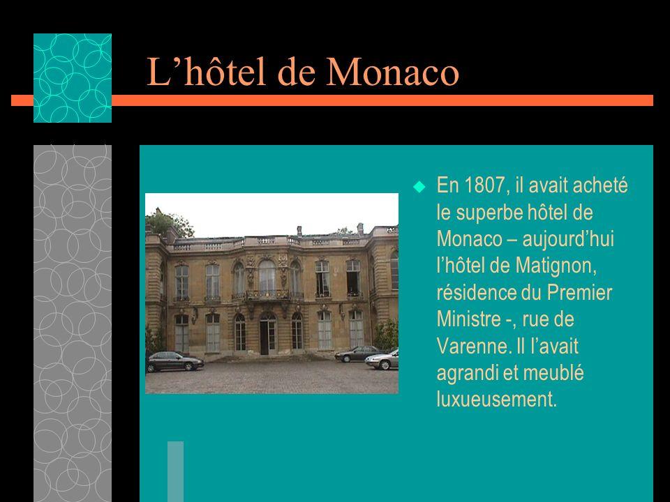 L'hôtel de Monaco