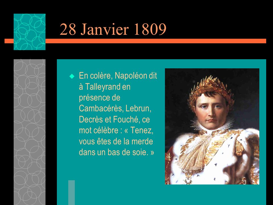 28 Janvier 1809