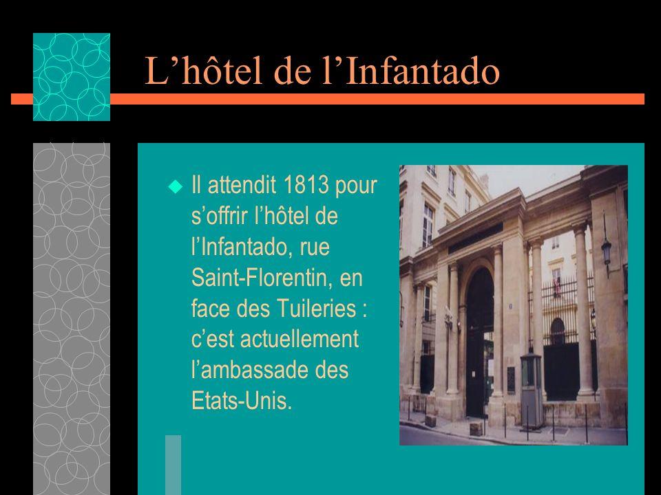 L'hôtel de l'Infantado