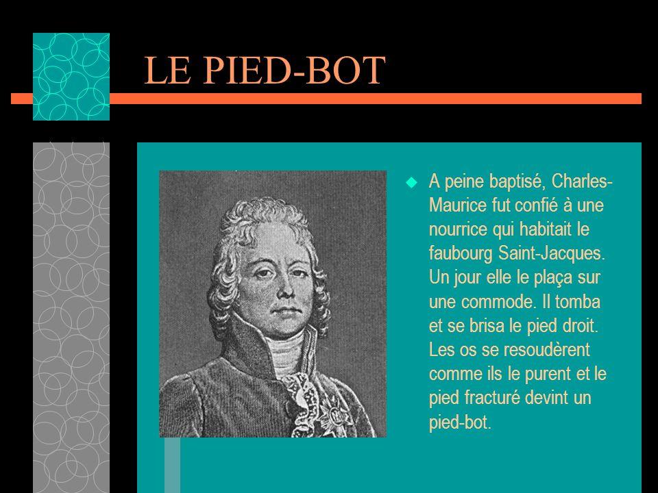 LE PIED-BOT
