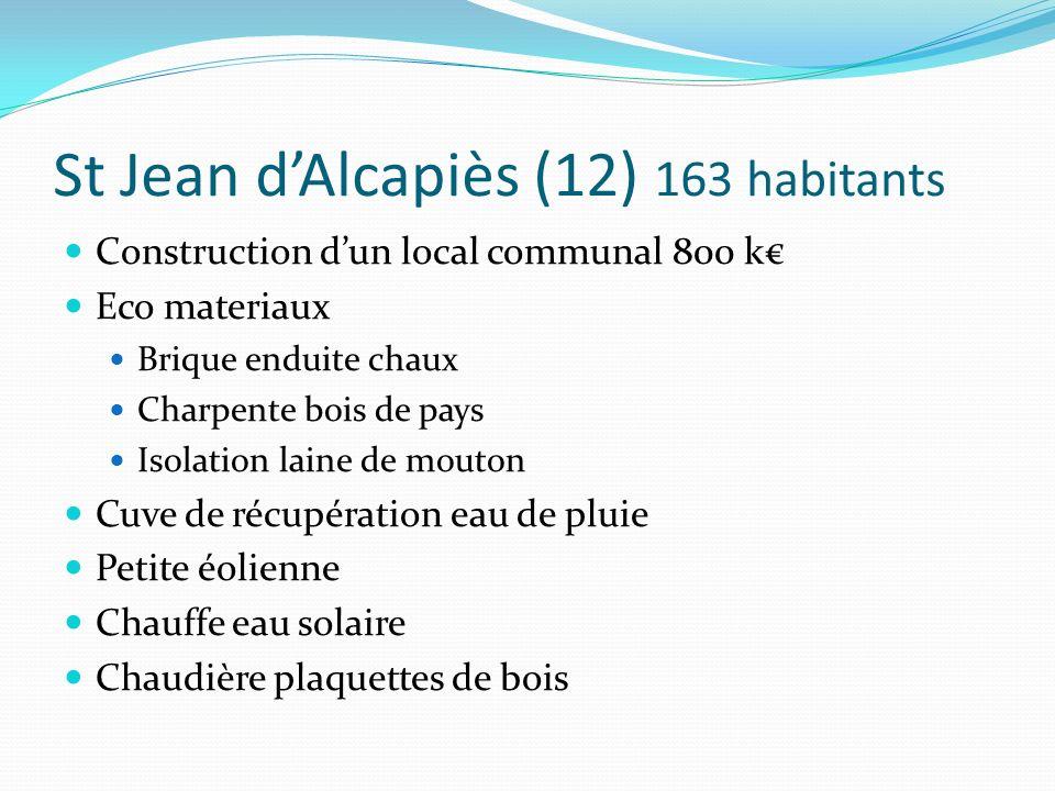St Jean d'Alcapiès (12) 163 habitants