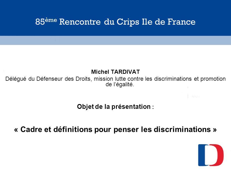85ème Rencontre du Crips Ile de France