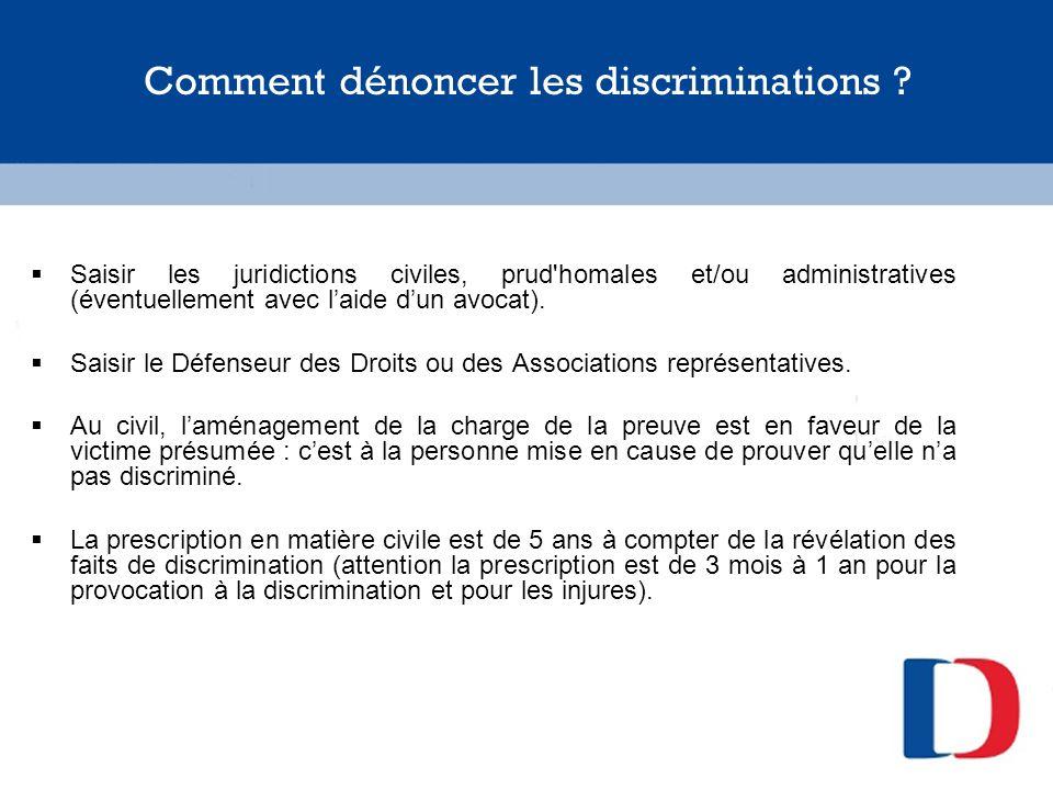 Comment dénoncer les discriminations