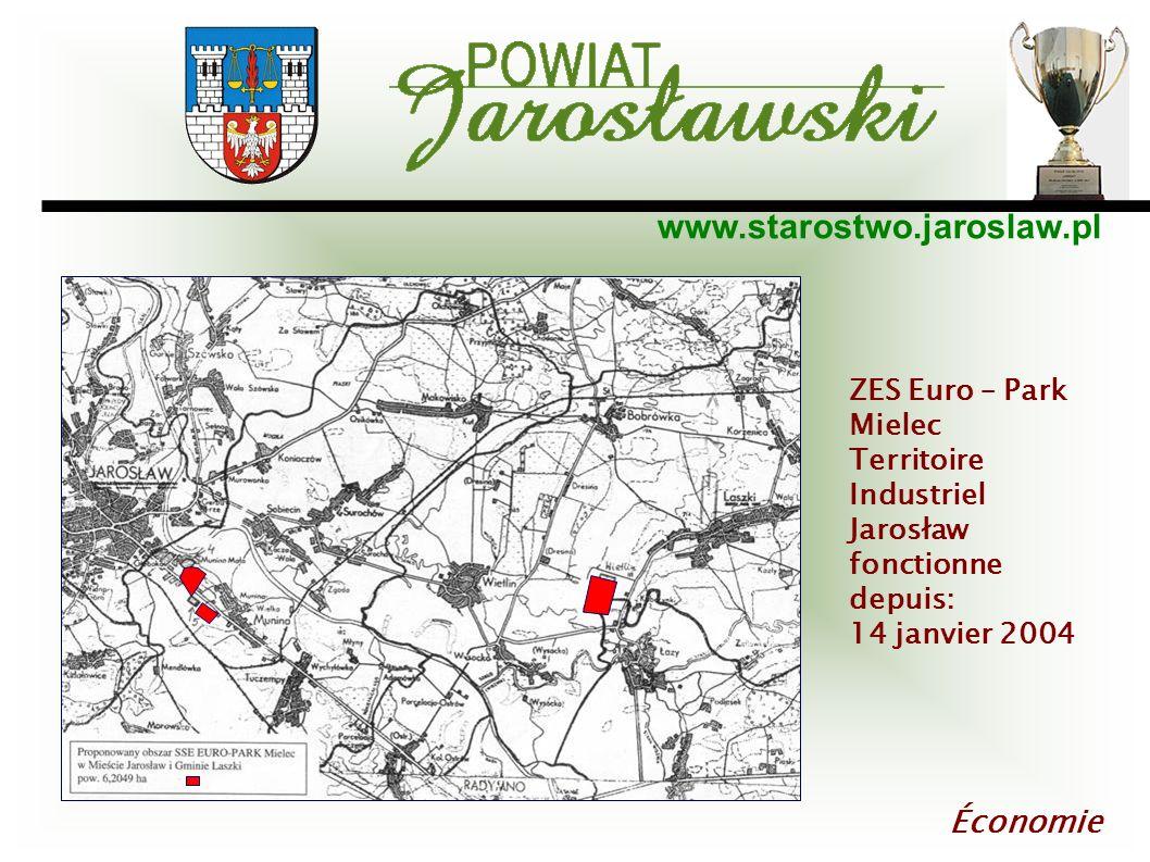 Économie ZES Euro – Park Mielec Territoire Industriel Jarosław