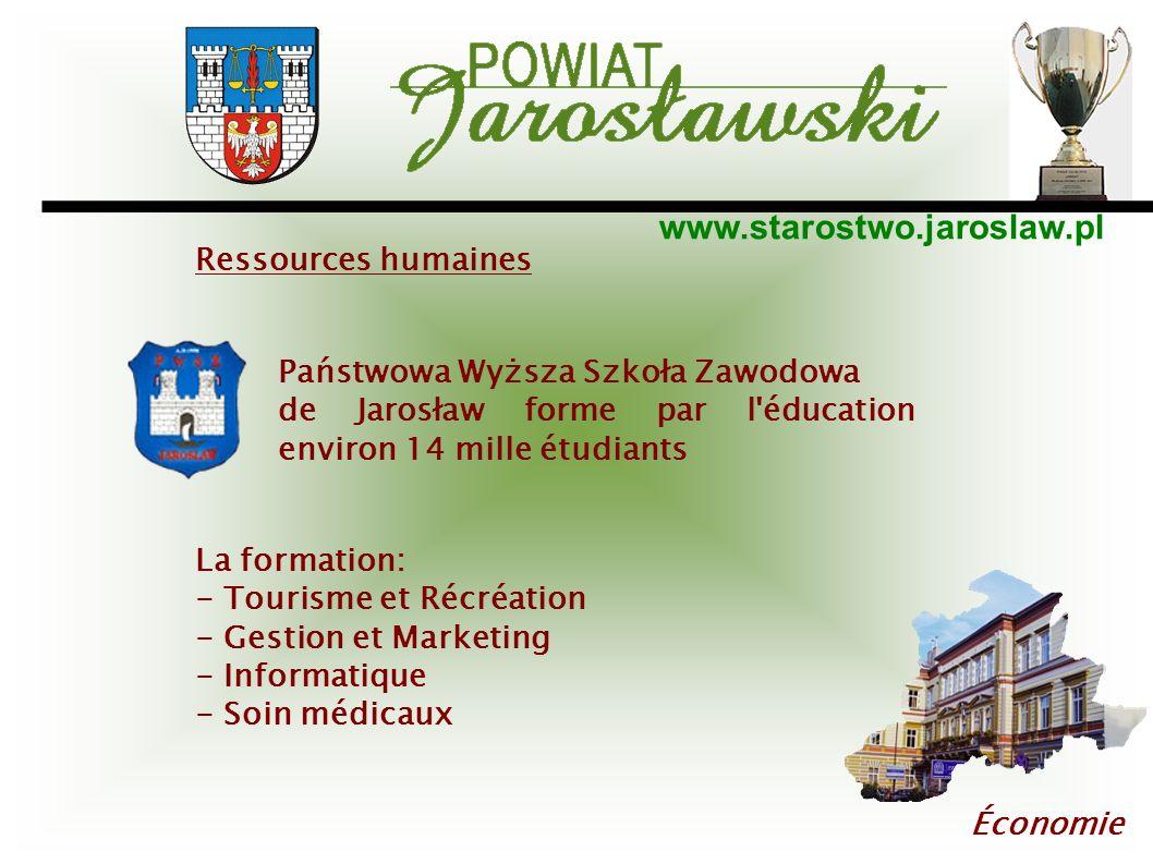 Ressources humaines Państwowa Wyższa Szkoła Zawodowa. de Jarosław forme par l éducation environ 14 mille étudiants.