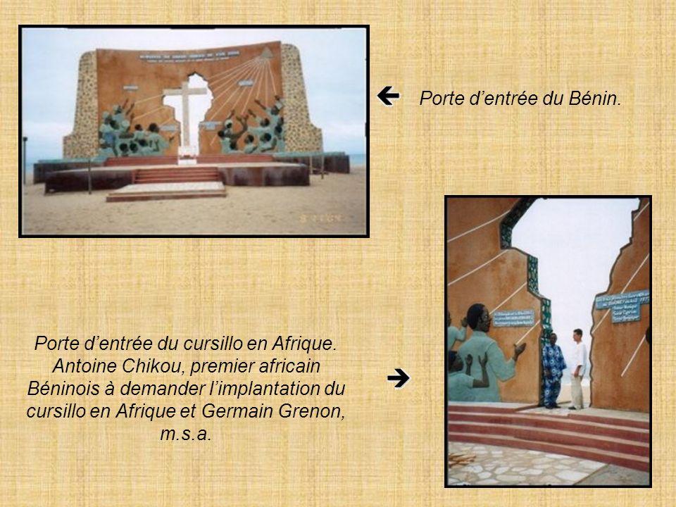 Porte d'entrée du Bénin.