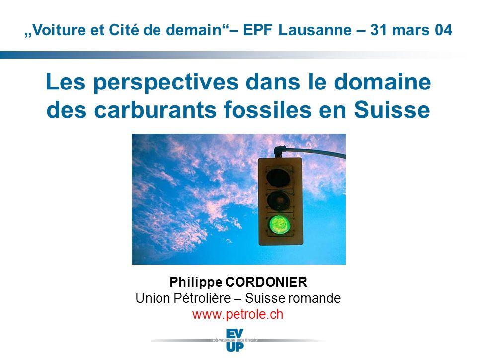 Les perspectives dans le domaine des carburants fossiles en Suisse