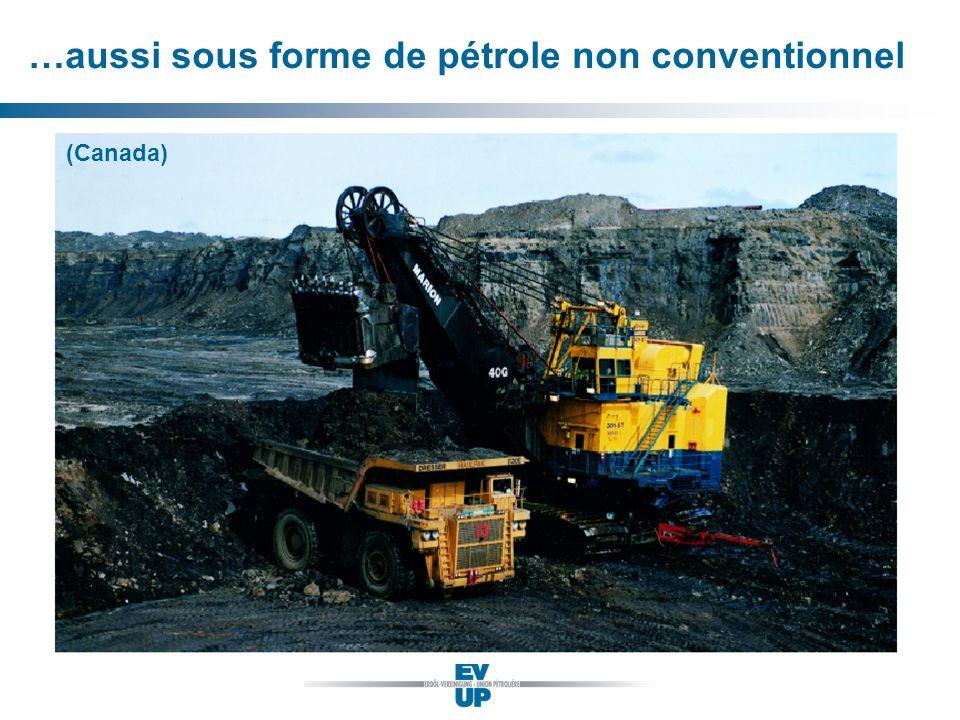 …aussi sous forme de pétrole non conventionnel