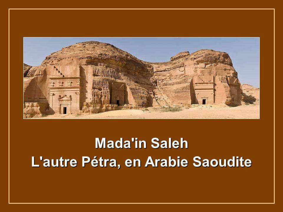 L autre Pétra, en Arabie Saoudite