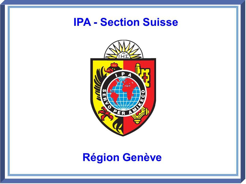 IPA - Section Suisse Région Genève