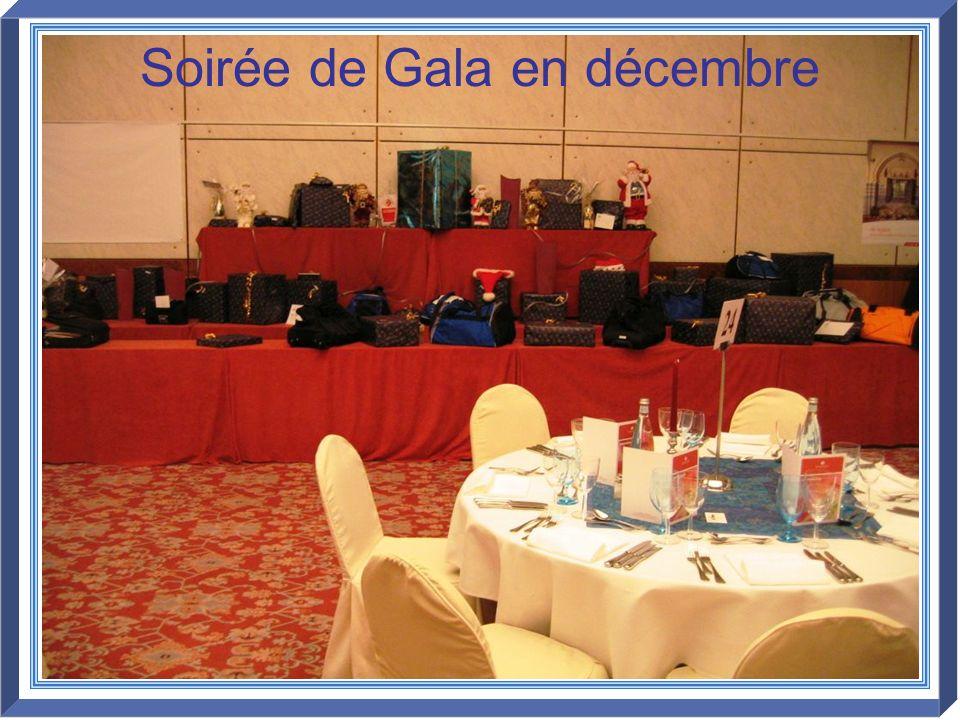 Soirée de Gala en décembre