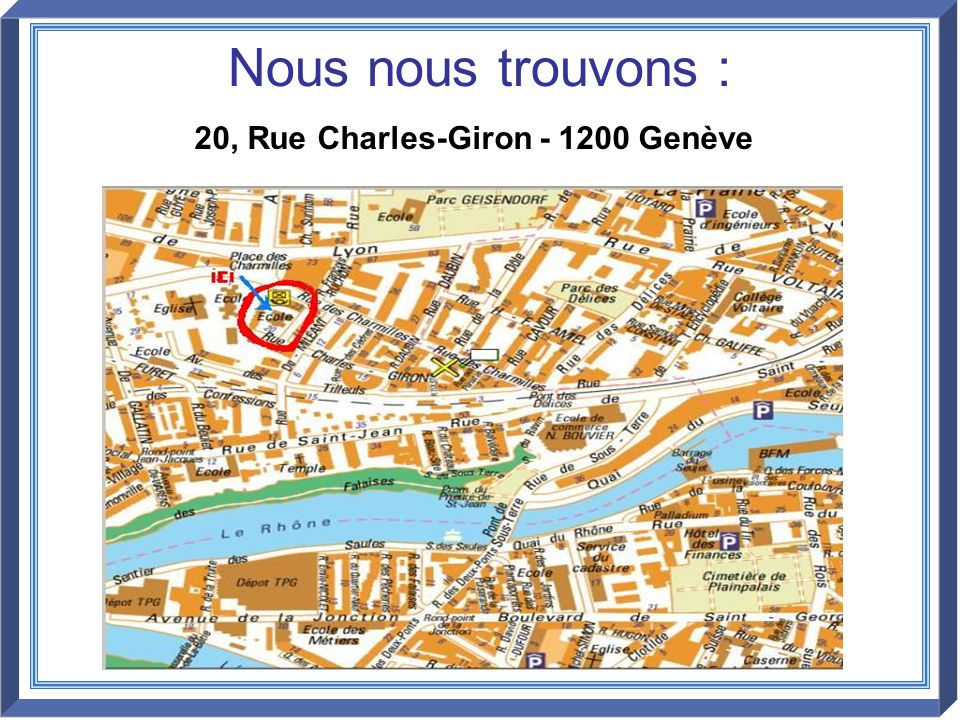 20, Rue Charles-Giron - 1200 Genève