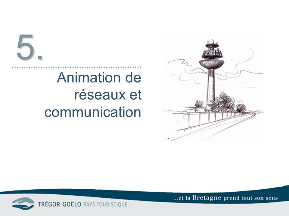 5. Animation de réseaux et communication