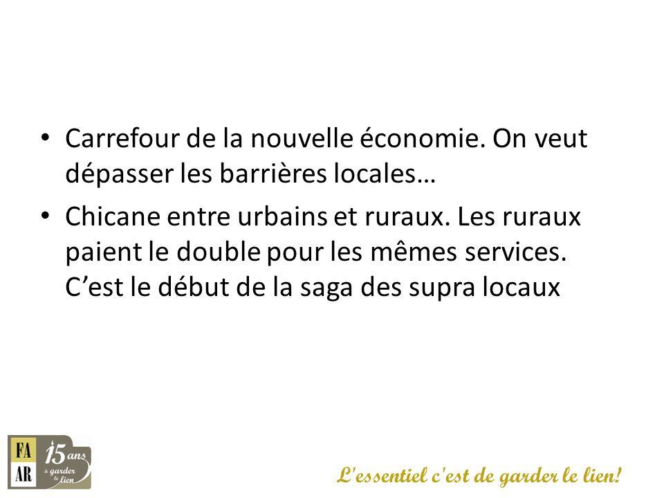 Carrefour de la nouvelle économie