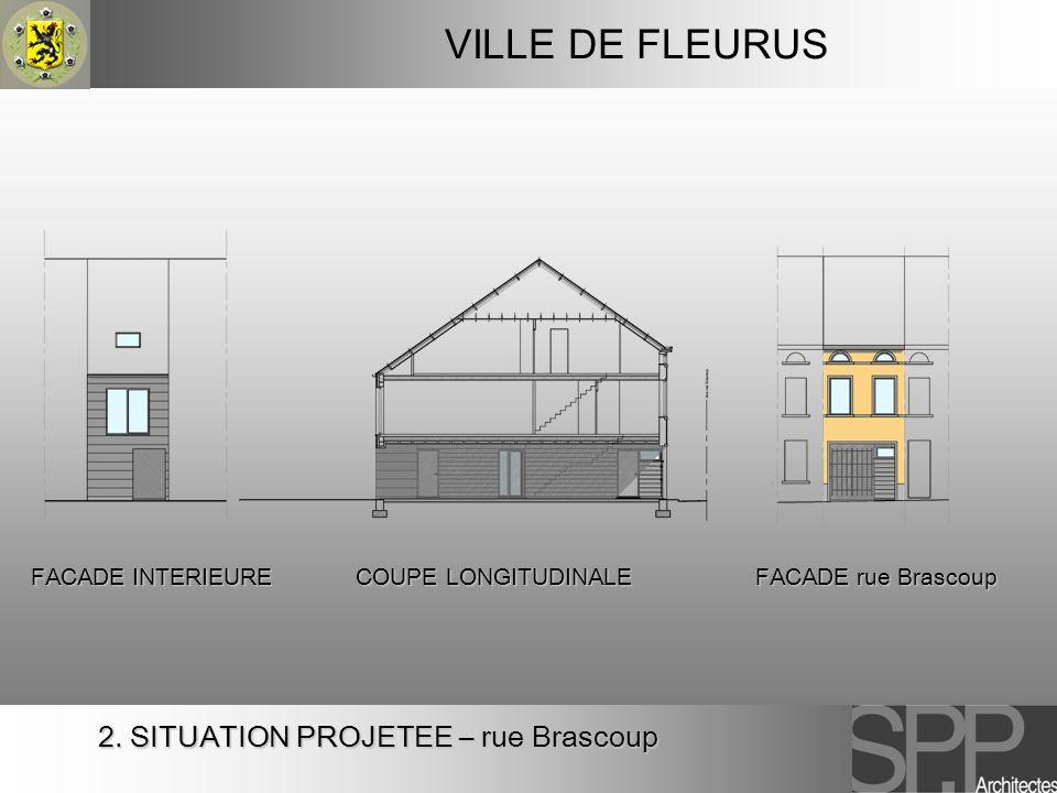 VILLE DE FLEURUS 2. SITUATION PROJETEE – rue Brascoup