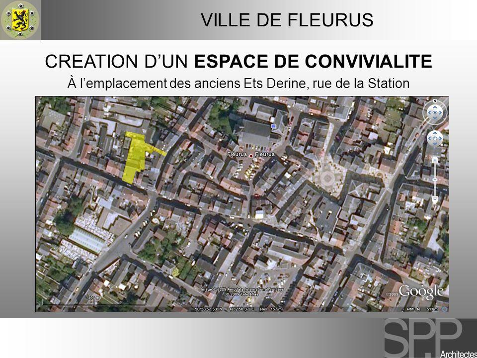 CREATION D'UN ESPACE DE CONVIVIALITE