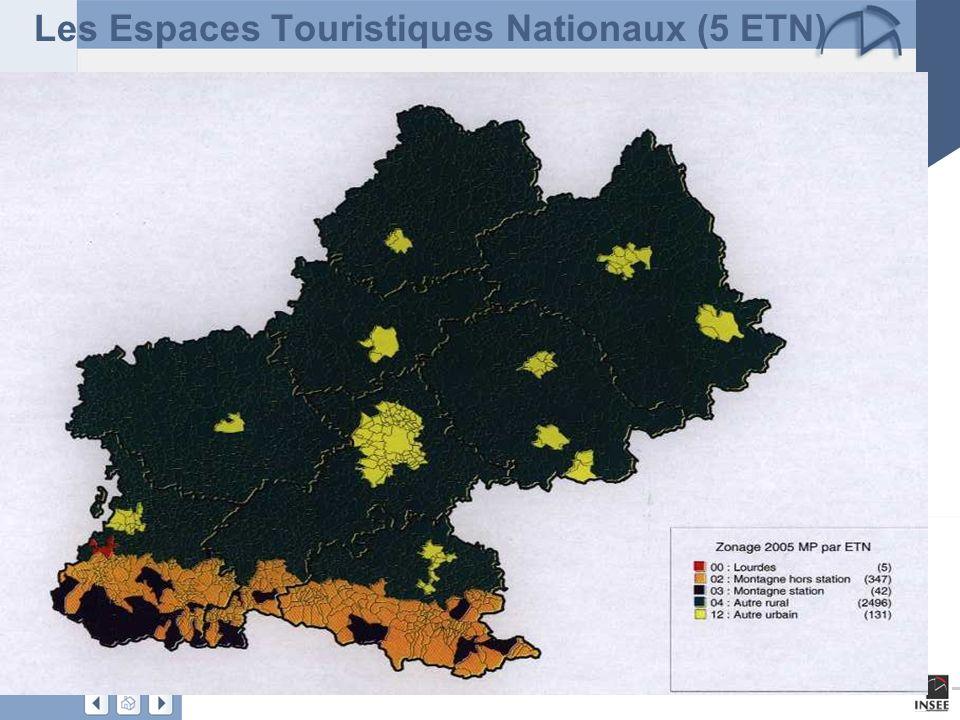 Les Espaces Touristiques Nationaux (5 ETN)