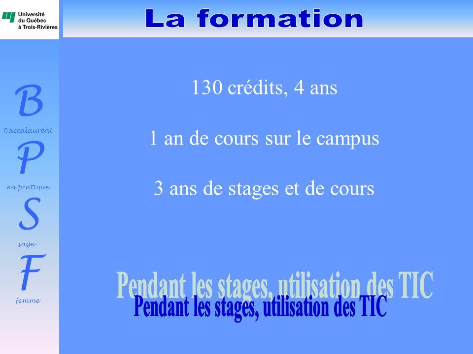 Pendant les stages, utilisation des TIC