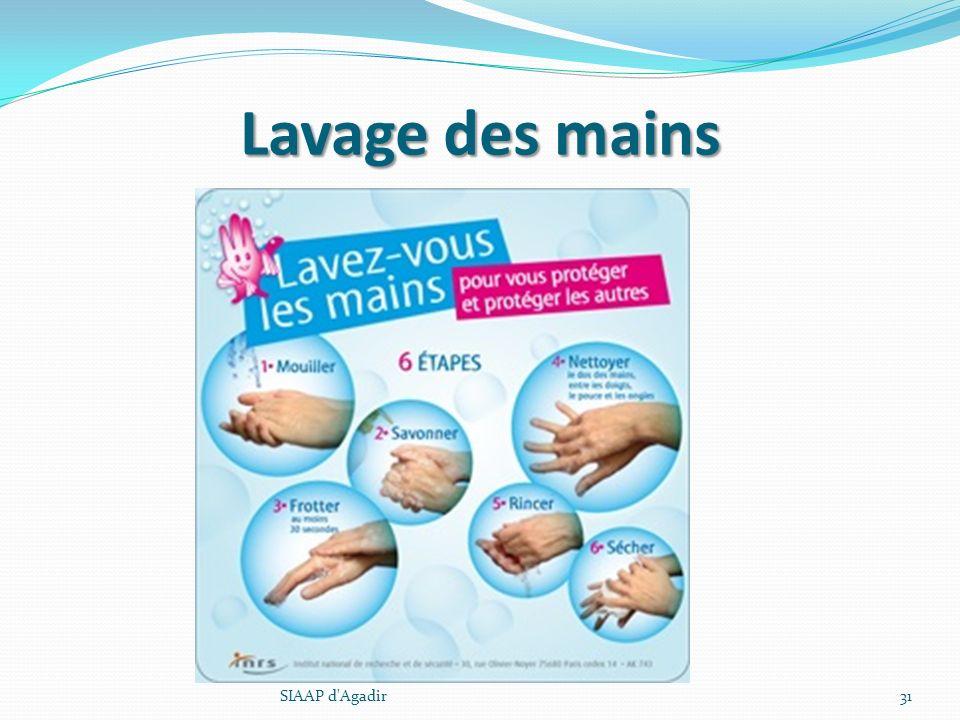 Lavage des mains SIAAP d Agadir SIAAP d Agadir