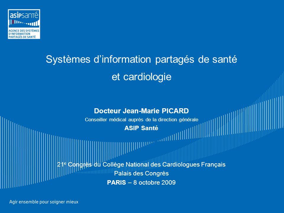 Systèmes d'information partagés de santé et cardiologie