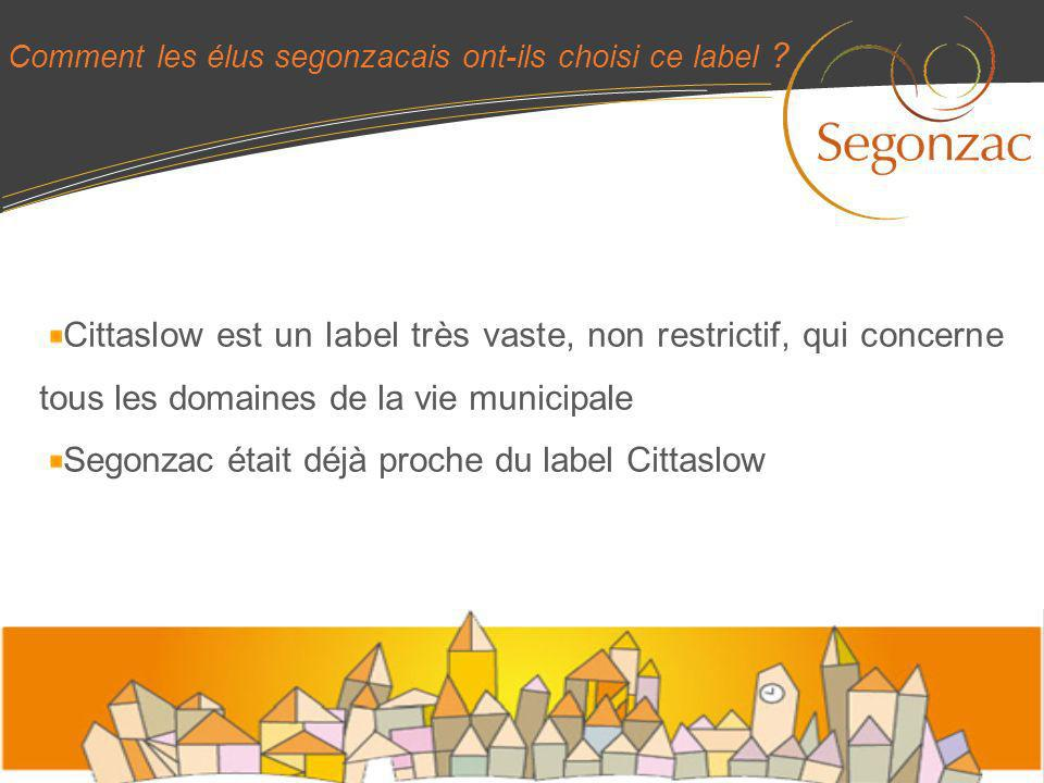 Segonzac était déjà proche du label Cittaslow