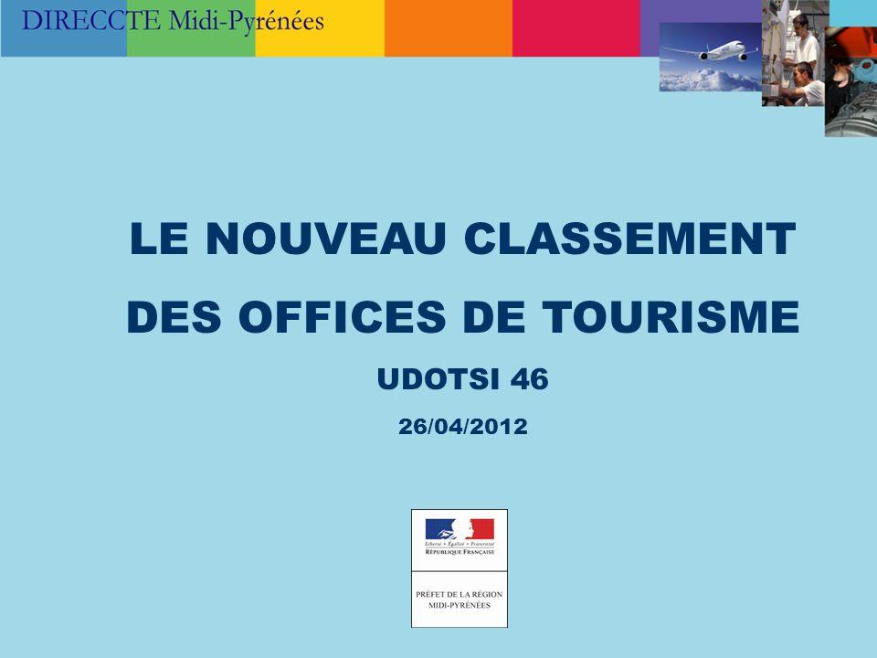 DES OFFICES DE TOURISME
