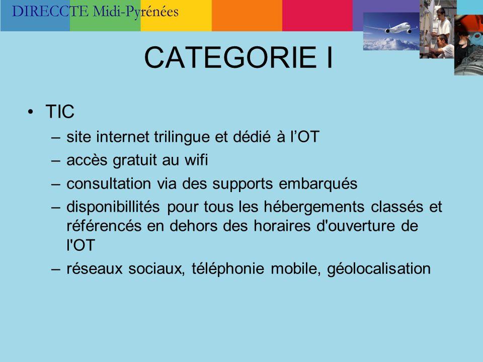 CATEGORIE I TIC site internet trilingue et dédié à l'OT