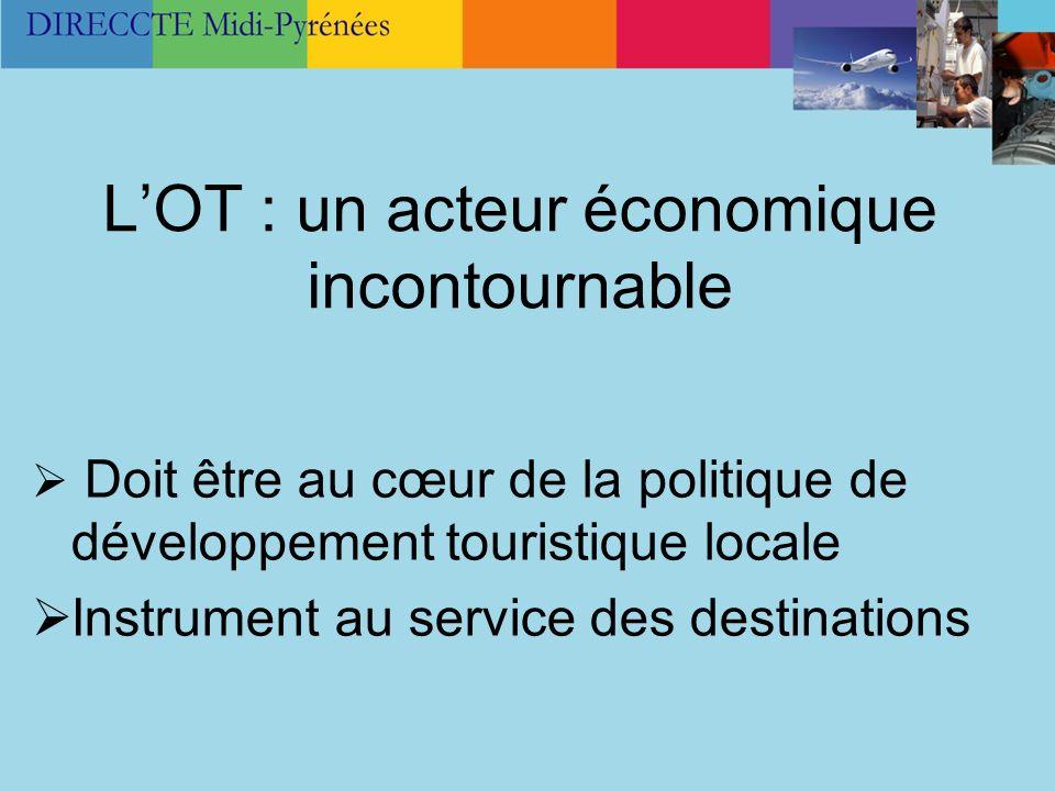 L'OT : un acteur économique incontournable
