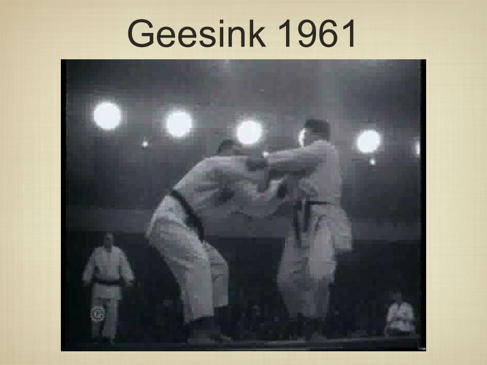 Geesink 1961