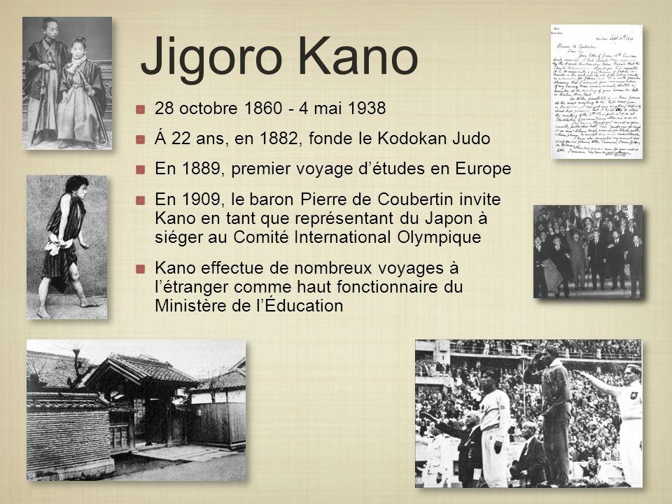 Jigoro Kano 28 octobre 1860 - 4 mai 1938