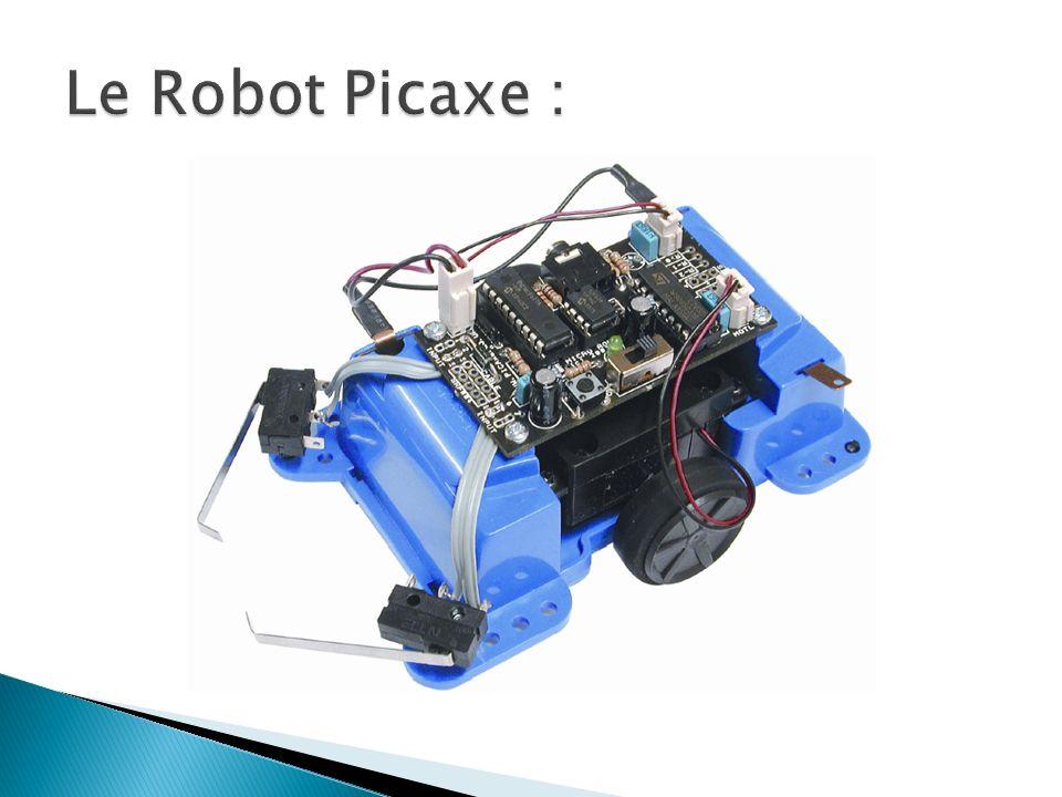 Le Robot Picaxe :