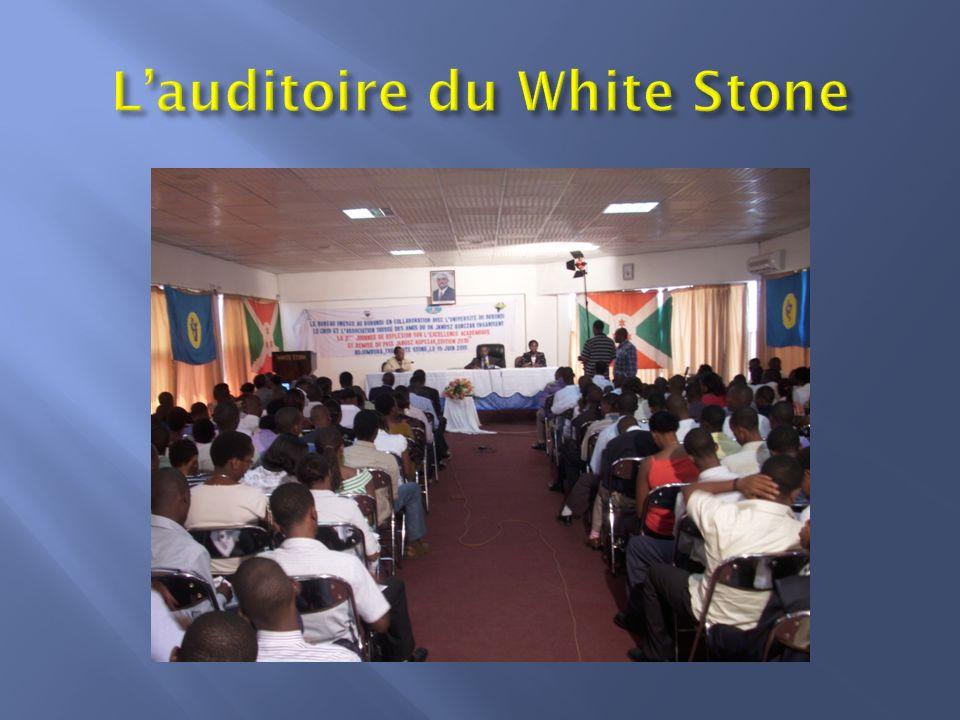 L'auditoire du White Stone
