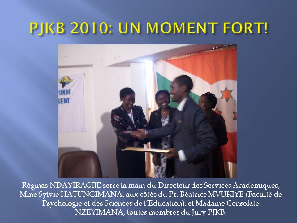 PJKB 2010: UN MOMENT FORT!