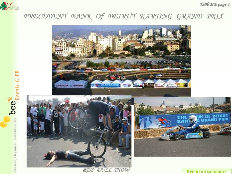 PRECEDENT BANK Of BEIRUT KARTING GRAND PRIX