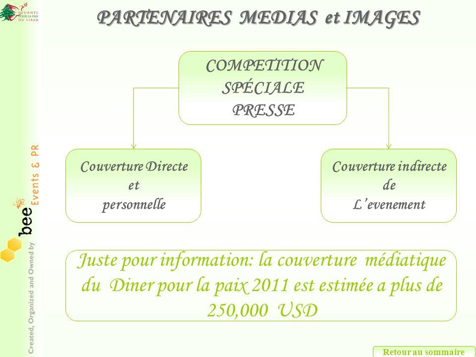 PARTENAIRES MEDIAS et IMAGES
