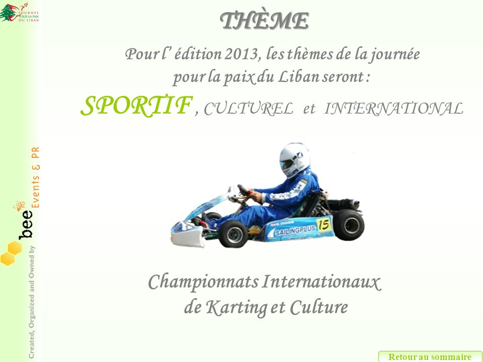 SPORTIF , CULTUREL et INTERNATIONAL
