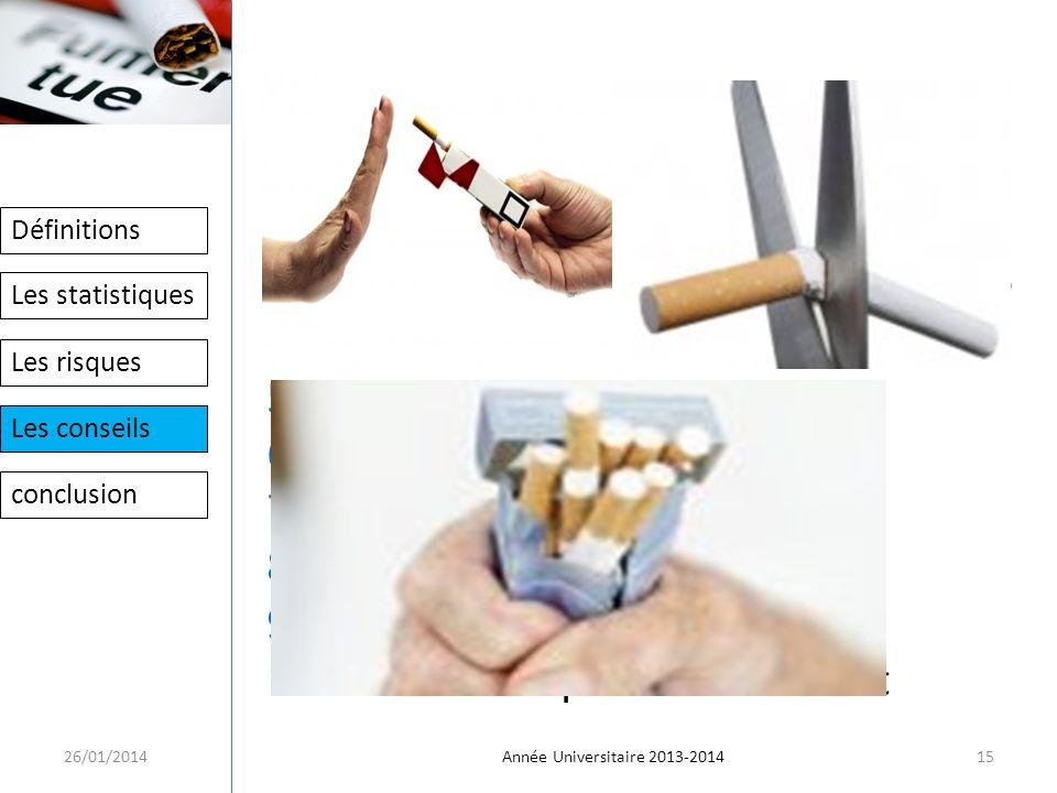 Dix conseils pour arrêter de fumer:
