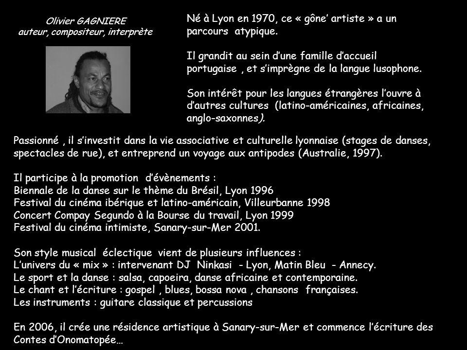 auteur, compositeur, interprète