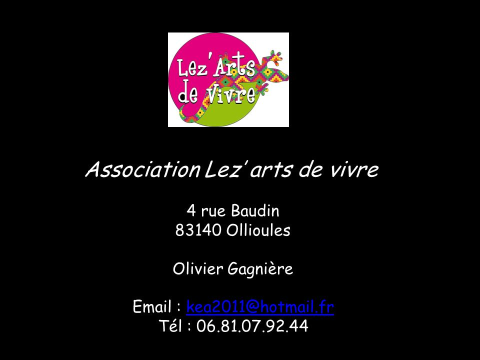 Association Lez' arts de vivre