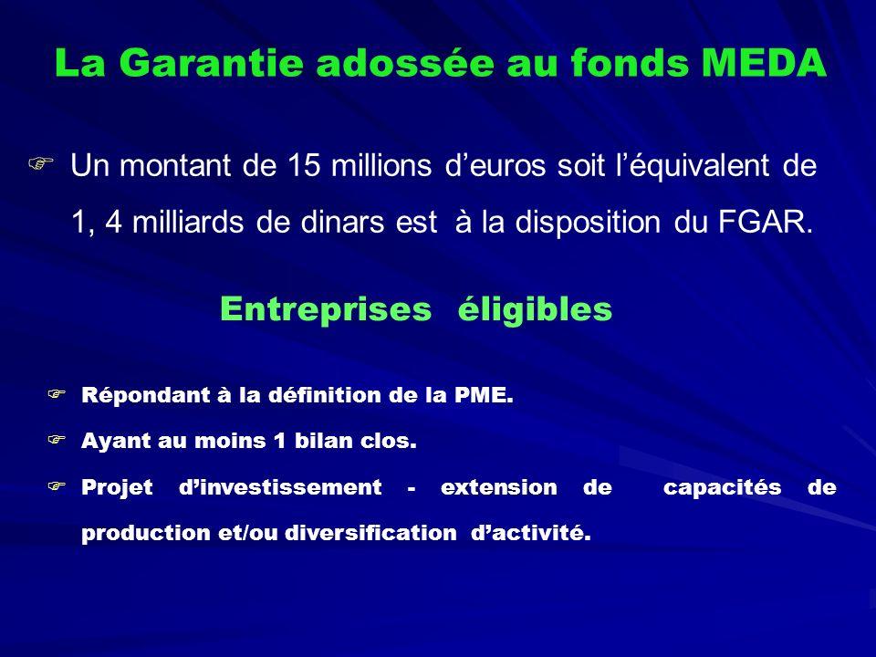 La Garantie adossée au fonds MEDA