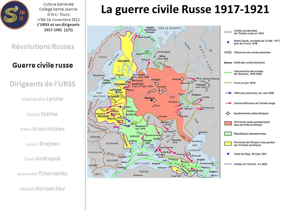 La guerre civile Russe 1917-1921