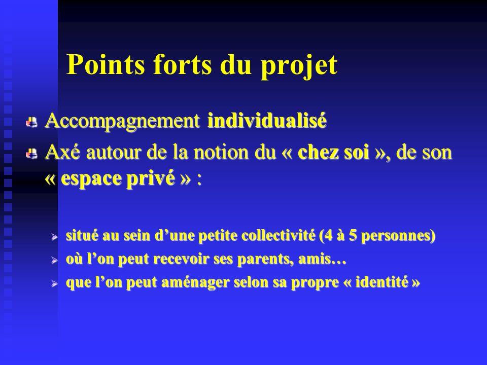 Points forts du projet Accompagnement individualisé