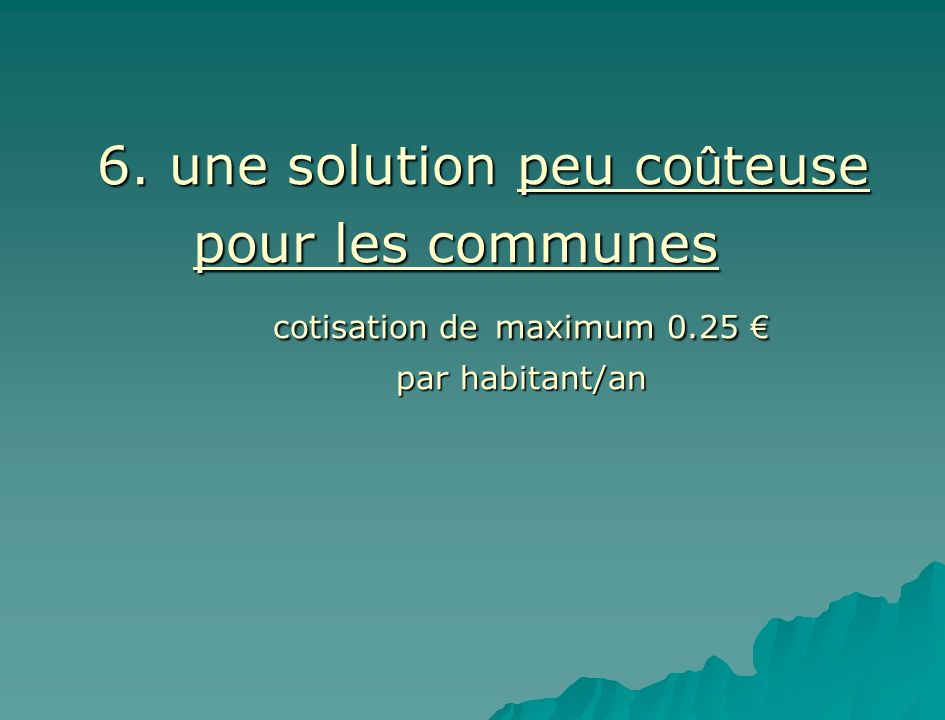 cotisation de maximum 0.25 €