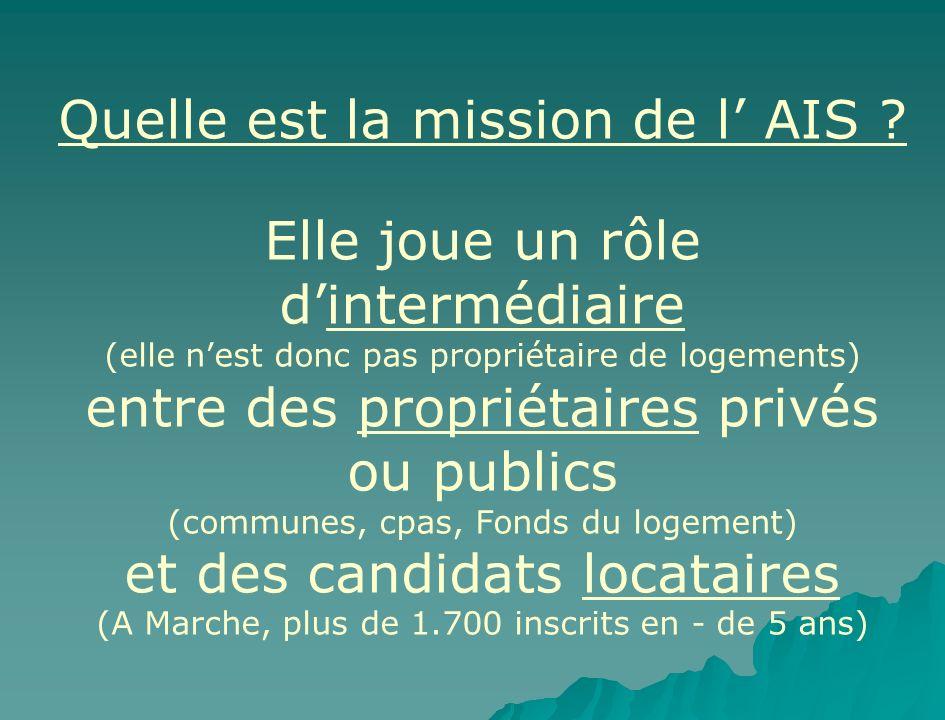 Quelle est la mission de l' AIS