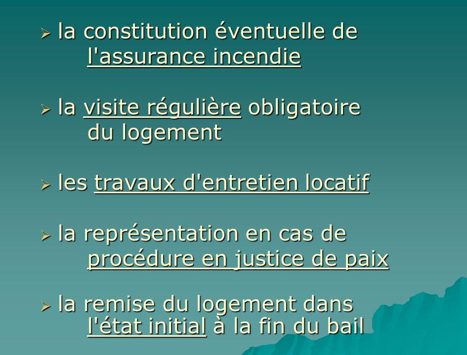 la constitution éventuelle de