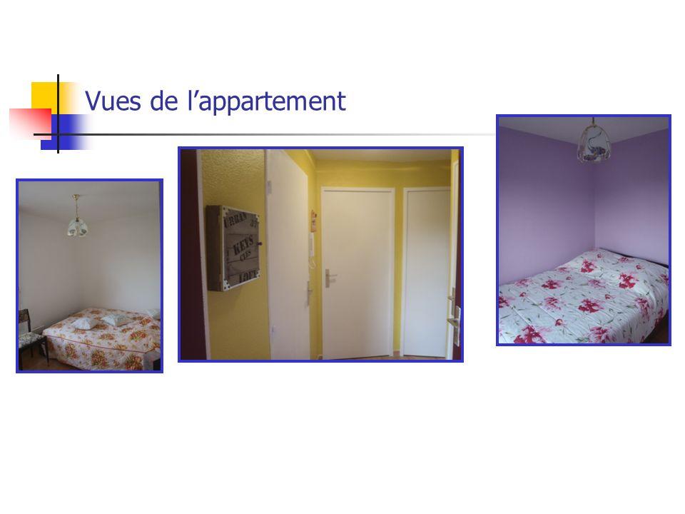 Vues de l'appartement